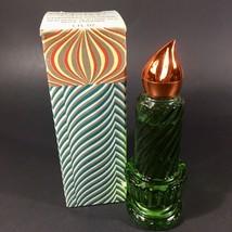Vintage Avon Christmas Candle Perfume Bottle w Charisma Cologne NEW 80% ... - $10.35