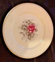 "Vintage Rosenthal Gray Dawn Roses Selb Germany 7 3/4"" Salad Bread Plate - $15.25"