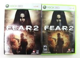 F.E.A.R. 2: Project Origin (Microsoft Xbox 360, 2009) Complete w/ Sleeve... - $19.95