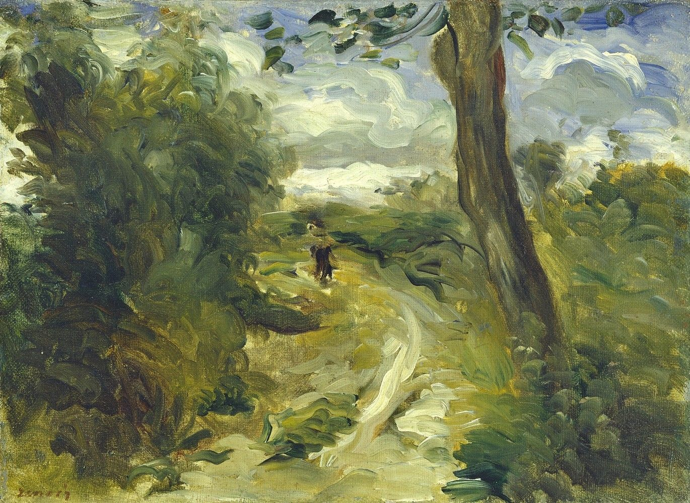 Primary image for Landscape between Storms Painting by Auguste Renoir Art Reproduction