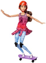 Barbie Made to Move The Ultimate Posable Skateboader Doll Girls Toy Gift... - $64.47