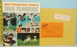 1969 San Francisco Giants Yearbook with Original Envelope EX - $38.61