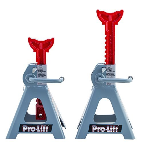Primary image for Pro-LifT T-6903D Double Pin Jack Stand - 3 Ton, 1 Pack