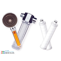 VitaFresh Deluxe Combo E Deluxe Sediment Shower Filter Rose Shower Head UBS - $98.90