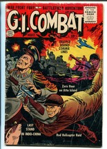 G.I. COMBAT #27 1955-QUALITY-EXPLOSION COVER-COMMIES-vg minus - $68.29