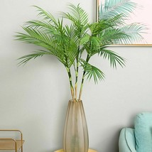 Palm Tree Artificial Leaves Branches Faux Foliage Home Wedding Living Ro... - $22.99+
