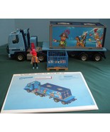 Limited Edition Playmobil #4447 Container Truck 99% Complete/ EXC+++ (A)... - $65.00