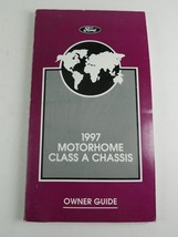 1997 Ford Motorhome Class A Chassis Owner Guide - $24.98