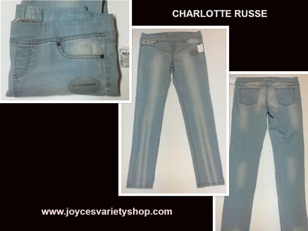 Charlotte russe jean leggings web collage