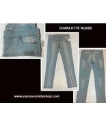 Charlotte Russe Jean Legging Pants Women's Sz 13 NWT - $19.99