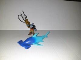 Imaginext Pirate Shark With Harpoon & Hammerhead Shark - $14.50