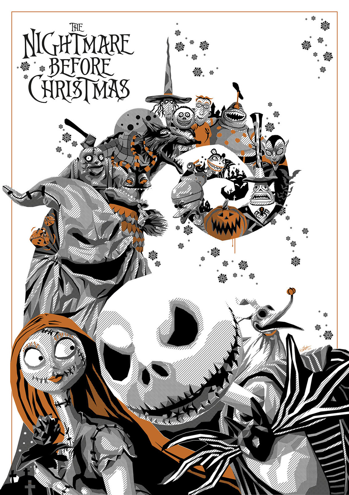 Nightmare Before Christmas Poster 18x24 inches [E1125165022620729M ...