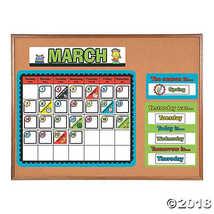 Robots & Gears Bulletin Board Calendar  - $7.46