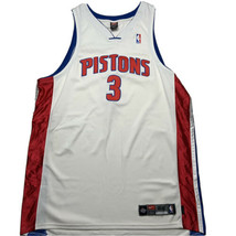 Vintage Nike Men's 3XL 54 Ben Wallace Detroit Pistons Stitched Jersey #3... - $149.93