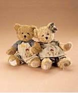 "Boyds Bears ""Sasha & Seth"" 9"" Bear of Mo- April 2008- #930003- BBC Exclu... - $59.99"
