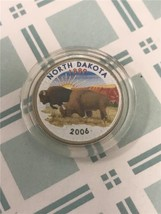 2006 D North Dakota Enameled State Quarter *FREE SHIPPING* - $3.92