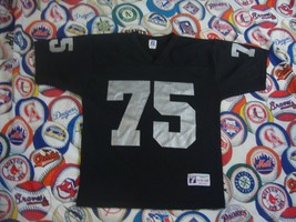 Vintage Los Angeles Raiders Howie Long NWA Logo 7 NFL Jersey M - $44.49