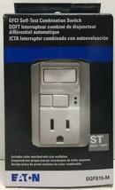 (New) Eaton Cooper  SGFS15M  GFCI Self-Test Combination Switch - White - $39.59