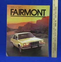 Vintage 1981 Ford Fairmont Car Dealership Brochure Information Booklet S... - $7.91