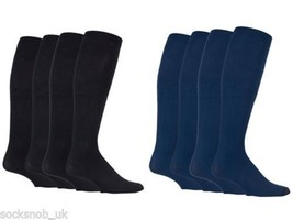 Iomi - 2 Pairs 80 Den graduated compression knee high energising socks 6... - $13.27