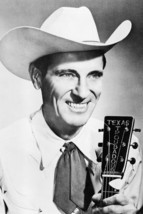 Ernest Tubb Smiling Holding Guitar 24x18 Poster - $23.99