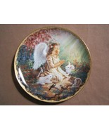 AN ANGEL'S SPIRIT collector plate DONA GELSINGER Garden Blessings ANGEL ... - $24.99
