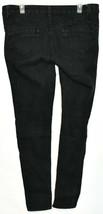 Blue Asphalt Women's Black Denim Skinny Jeans Size 13R image 2