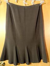 TROUSERS ETC. FIt & Flare Skirt 8 Brown Below knee length Pleated hem Ci... - $22.76