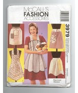 2003/McCall's Accessories/3979/Aprons/UNCUT Pattern - $4.99