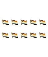 """Lote de 10 Bear Orgullo Pin Broche Bandera 0.5"""" Sombrero Corbata Tachuela - $15.61"""