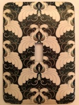 Art Deco. Metal Switch Plate  - $9.50