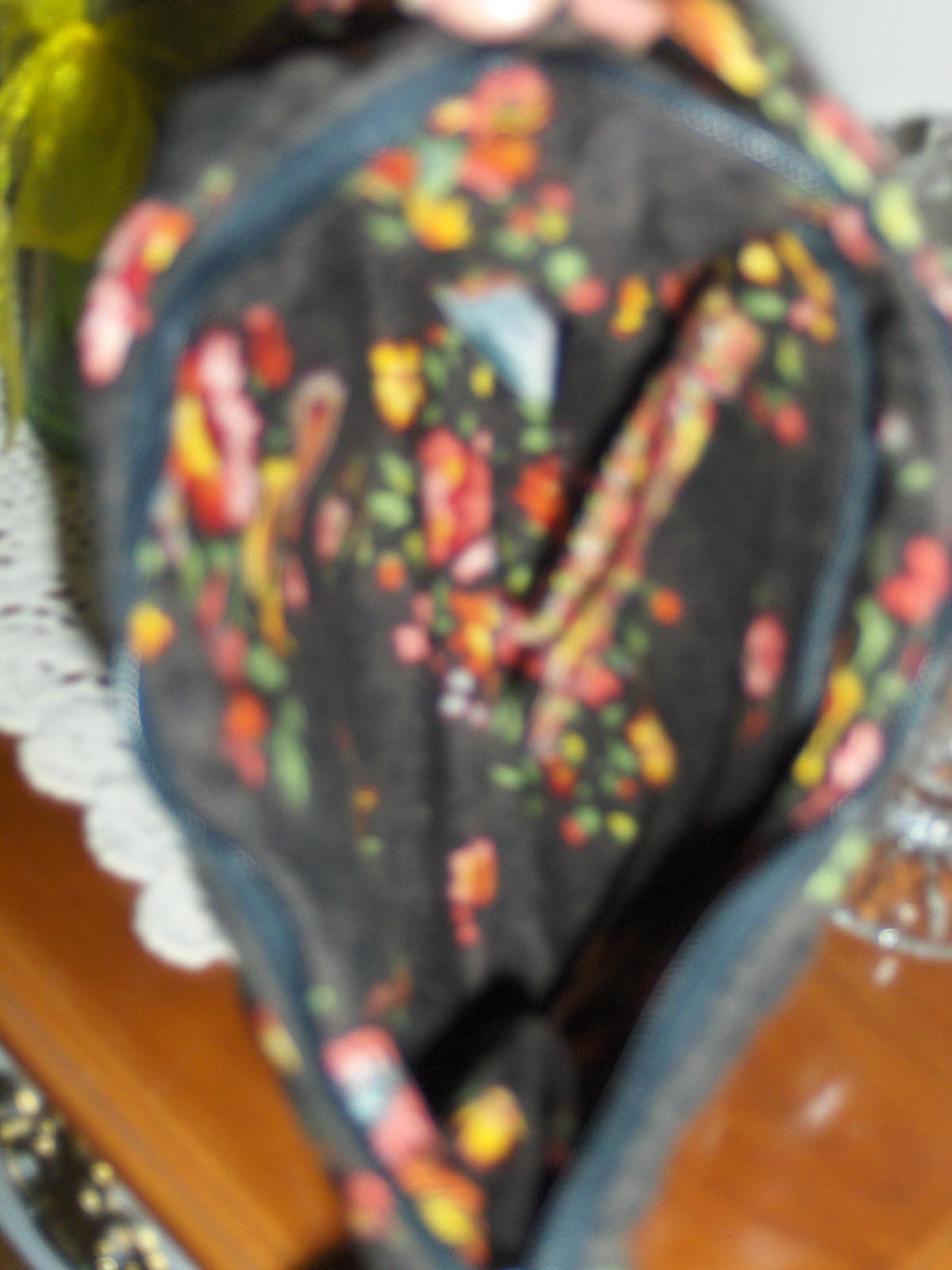 Vera Bradley Chocolate Pattern Molly Hobo Shoulder Bag Retired Purse Handbag