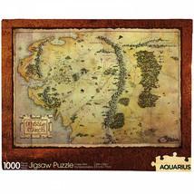 The Hobbit Map 1000 Piece Jigsaw Puzzle Multi-Color - $29.98