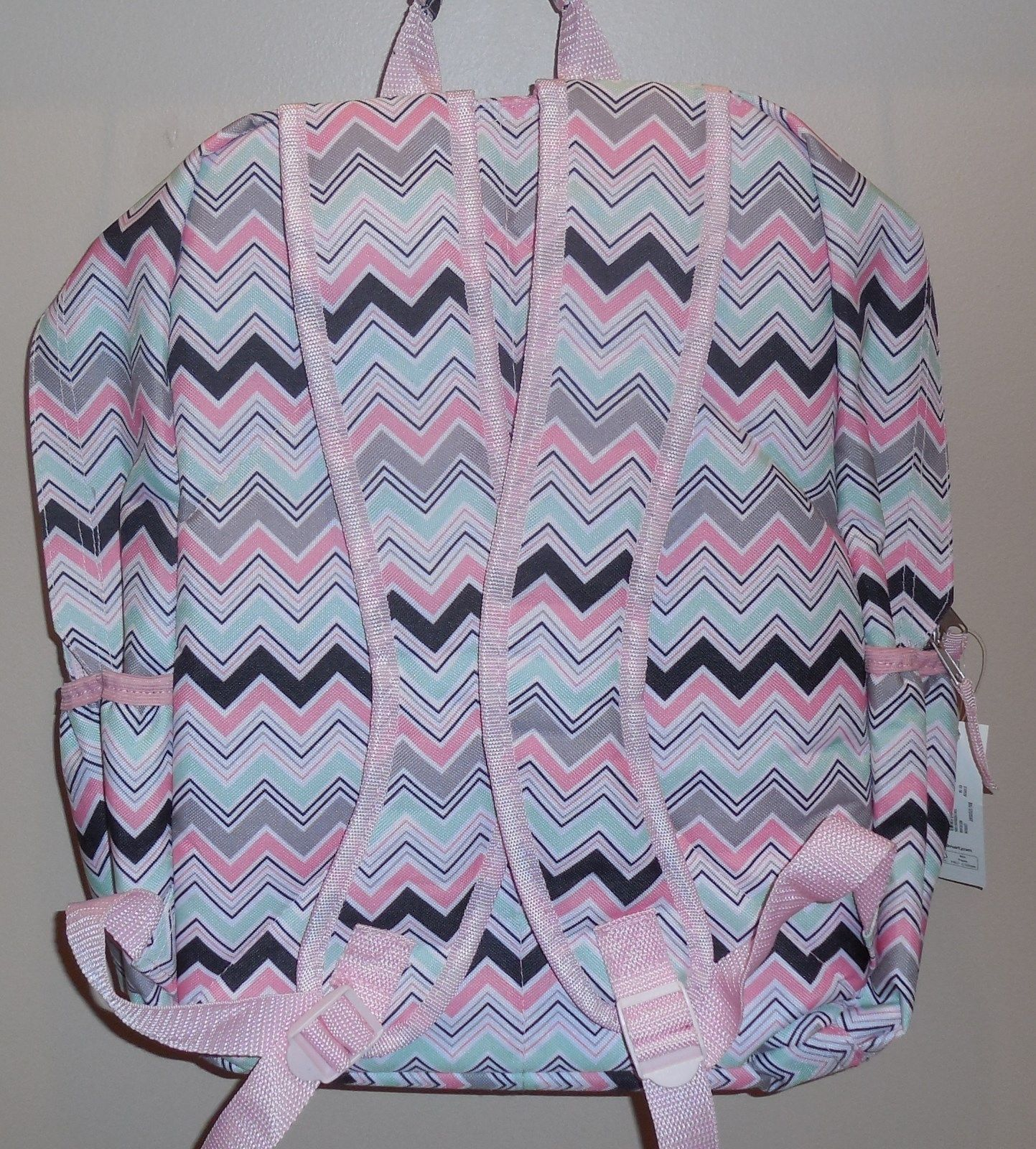 961da55d8d No Boundaries Big Student Girls Chevron Bookbag Backpack Pink New School