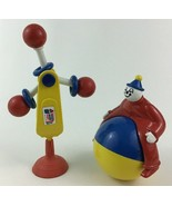 Ambi Toys Baby Clown Roller Spinner with Suction Cup Vintage 1960s - $37.57