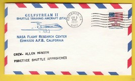 GULFSTREAM II SHUTTLE TRAINING EDWARDS CA JUNE 6 1977 PRACTICE SHUTTLE A... - $1.78