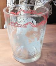 Hazel Atlas Stagecoach Glass - $24.00