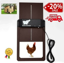 Chicken Coop Door  关 r Opener ALU Slider Automatic Secure Motor Motor Hen House NEW-$ 93.50 +