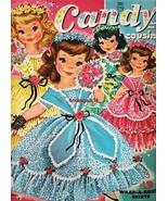 VINTAGE UNCUT 1961 CANDY & HER COUSINS PAPER DOLLS~#1 REPRODUCTION~ADORA... - $16.95