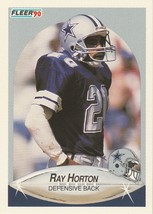 1990 Fleer #388 Ray Horton - $0.50