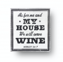 Vintage Style Sign 'Wine' As Shown Printed On Rustic Wood 12 x 13 - Item... - $28.00
