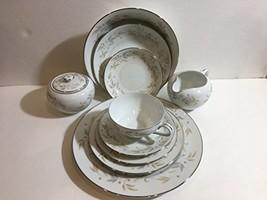 Mikasa Myrna Fine China 60 Pieces Dinnerware Set For 8 - $470.25