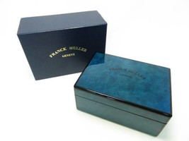 FRANCK MULLER watch case genuine box blue #17 - $395.01