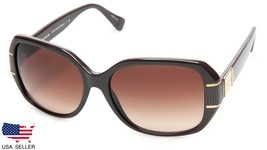 New Coach HC8119 L090 Bryn 525613 Chocolate / Brown Lens Sunglasses 56-16-140mm - $68.30