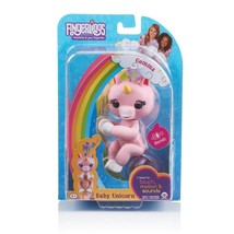 New WowWee Fingerlings Interactive Baby Unicorn Gemma  Pink 40 sounds br... - $18.99