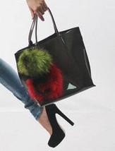 Real Fur Bag Charm/Fur Keychain/Porte-Clé En Fourrure/Pompons En Fourrure - $15.29