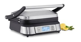 Grill Panini Griddler Press Cuisinart Countertop Stainless Steel Latest Edition - $118.00