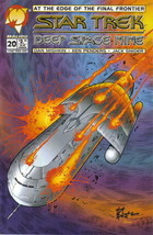 Star Trek: Deep Space Nine Comic Book #20 Malibu Comics 1995 VERY FINE U... - $2.99