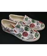Bucketfeet Catrinas Shoes Low Top Canvas Slip On Womens Size 5 Meteoro S... - $95.00