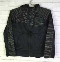 Nike Boys Size M Kids KD  Kevin Durant Athletic Hoodie Hooded Black Swea... - $34.64